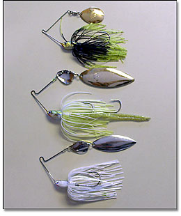Harris Chain Spinnerbait Lures for Bass